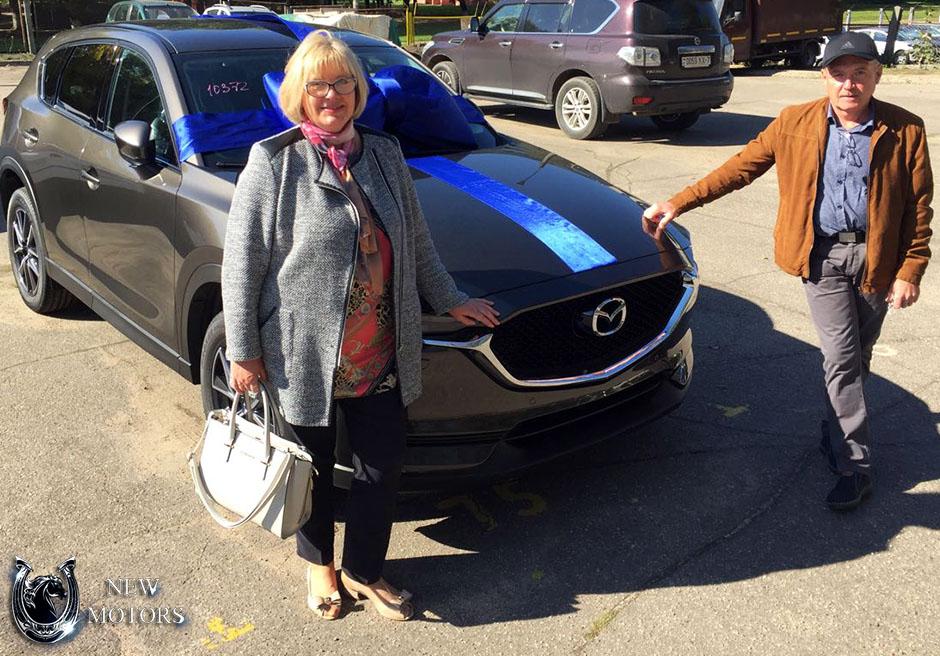 Доставили новую Mazda CX-5