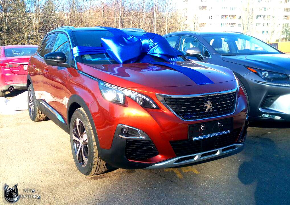 Отзыв о доставке нового Peugeot 3008