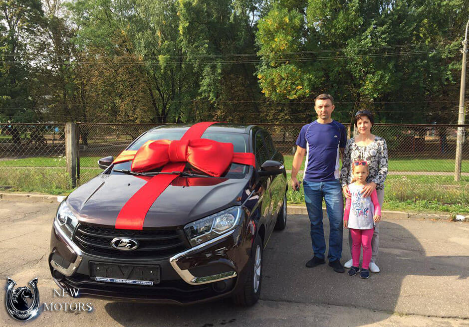 Новая Lada X-Ray в Минске