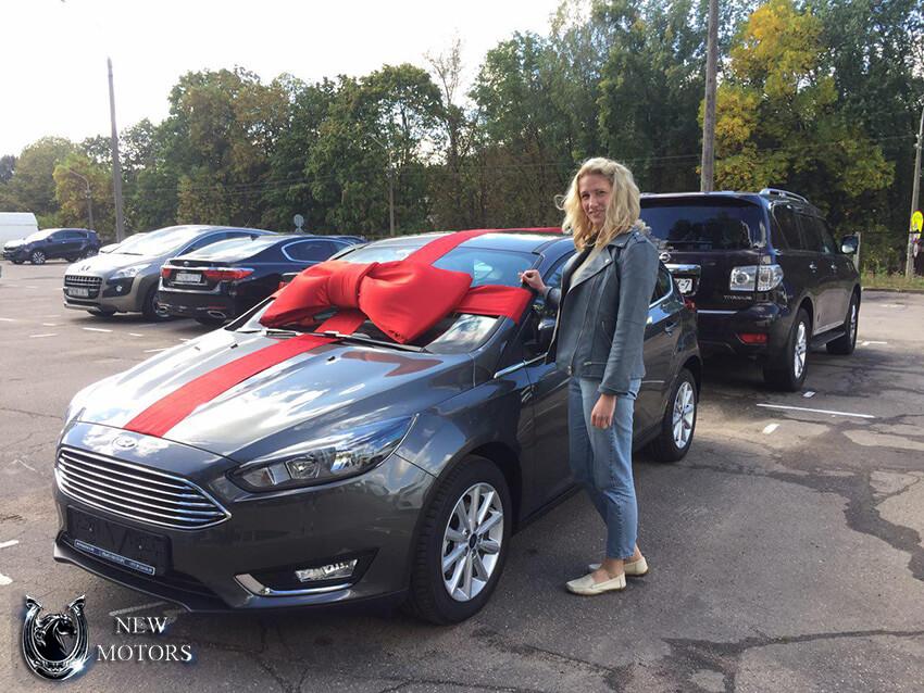 Доставка в Минск нового Ford Focus