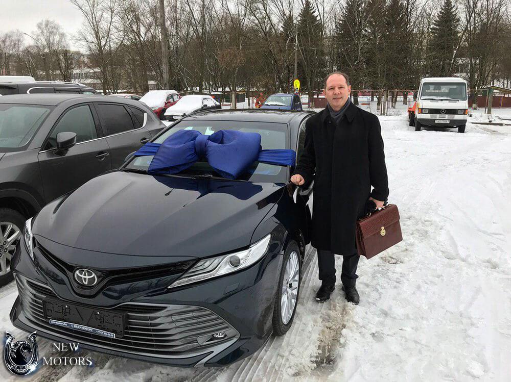 Отзыв о новом Тойота Кэмри