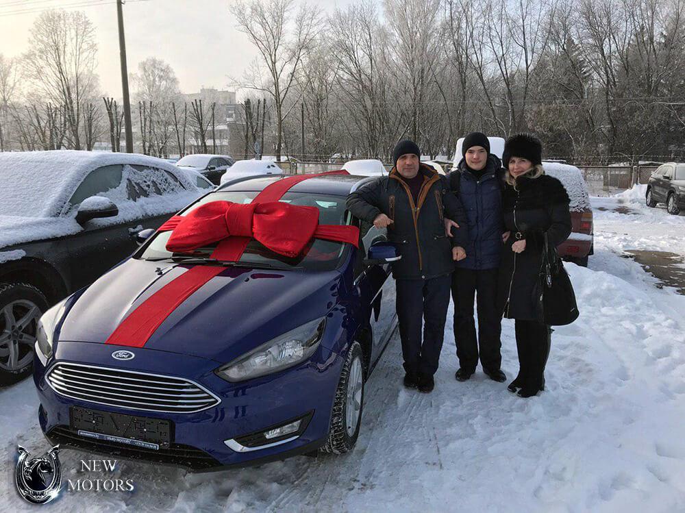 Новый Форд Фокус для наших клиентов
