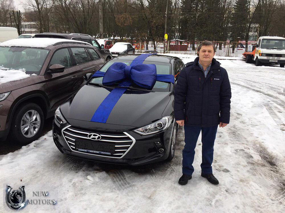 Доставили новую Hyundai Elantra