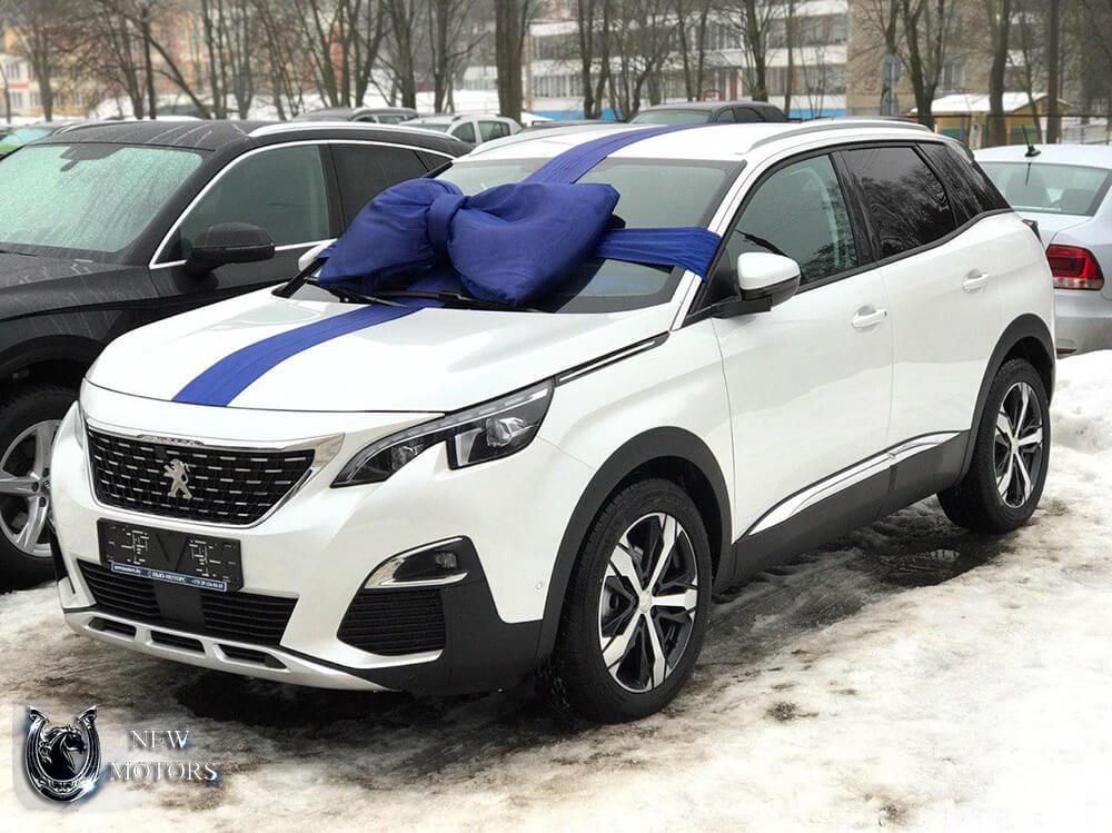 Доставили в Минск новый PEUGEOT 3008