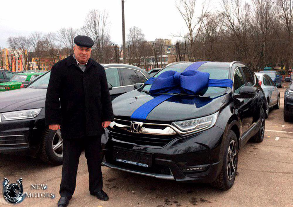 Новая Honda CR-V под заказ