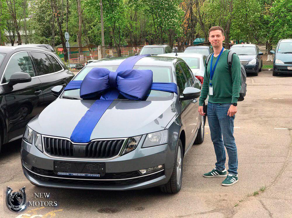 Отзыв о новом Skoda Octavia в Минске