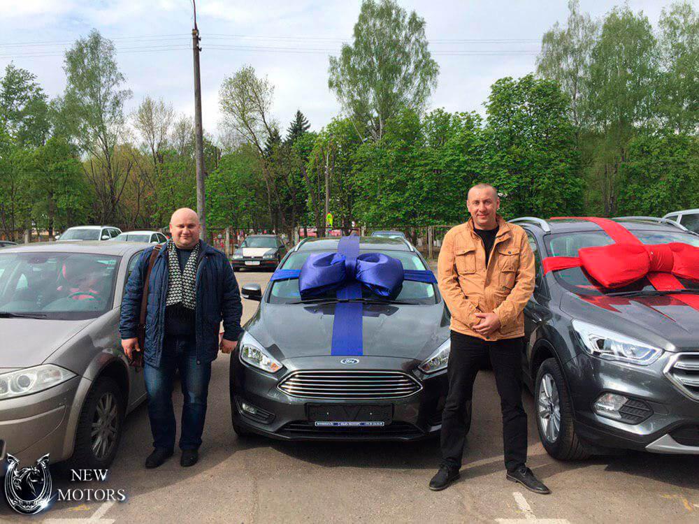 Доставка под заказ в Минск нового FORD Focus