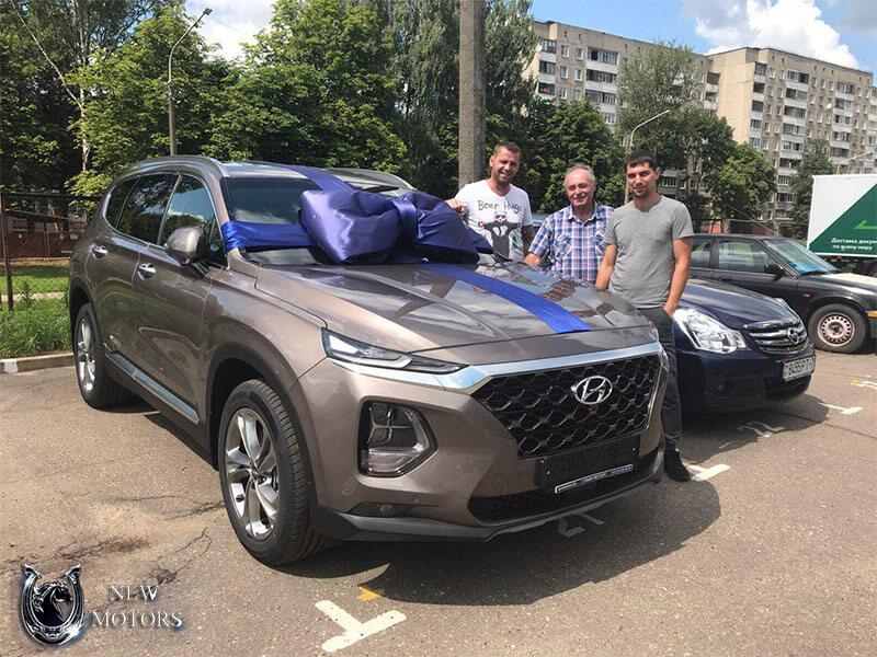 Новый Hyundai Santa Fe High-Tech в Минске