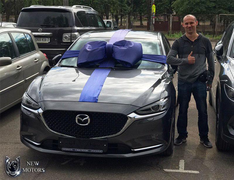 Новая Mazda 6 Supreme Plus в Минске