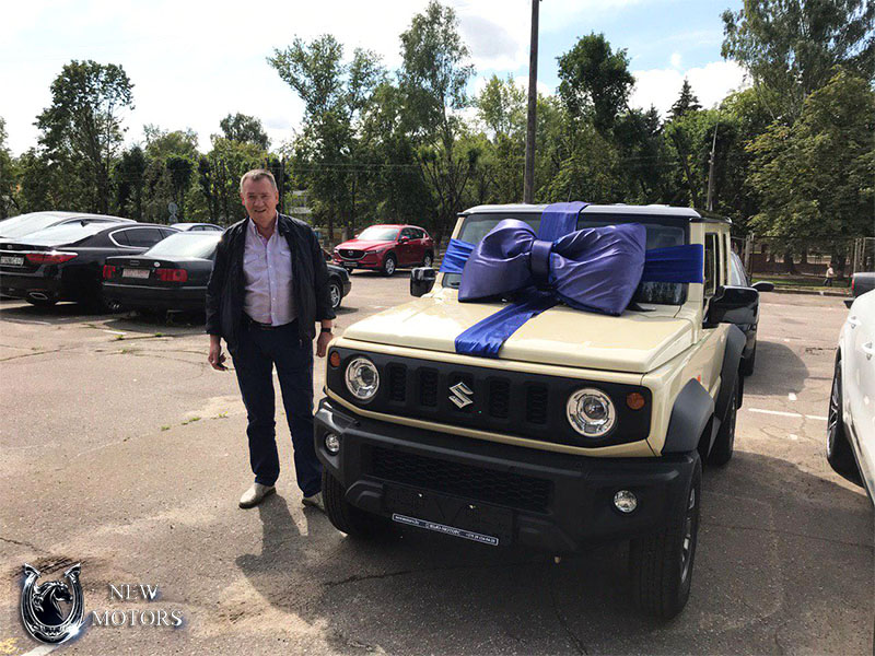 Новый Suzuki Jimny в Минске!