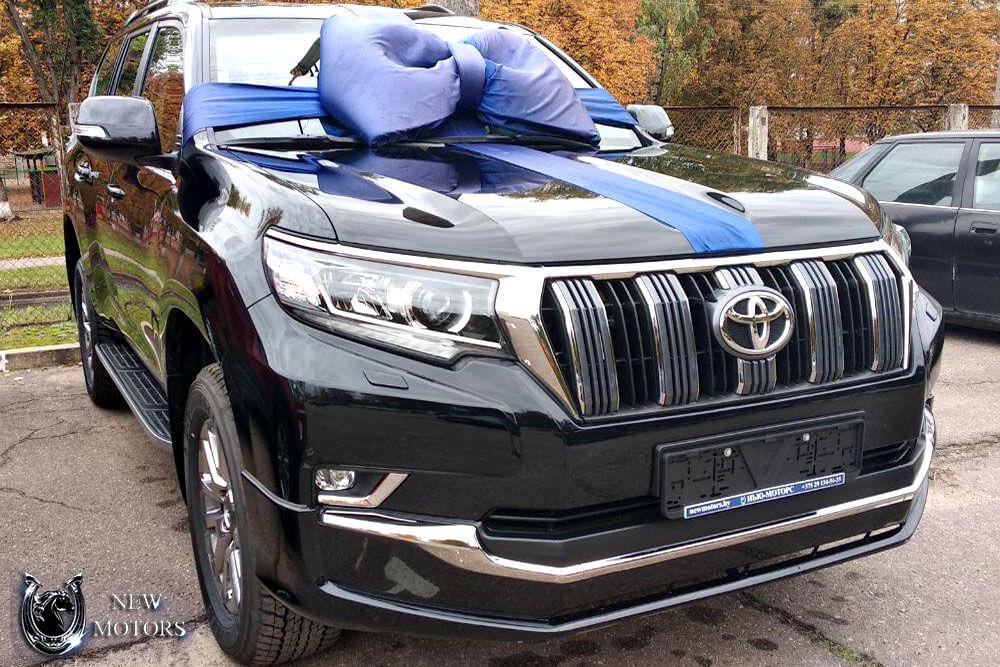 Доставка нового Toyota Land Cruiser Prado Style
