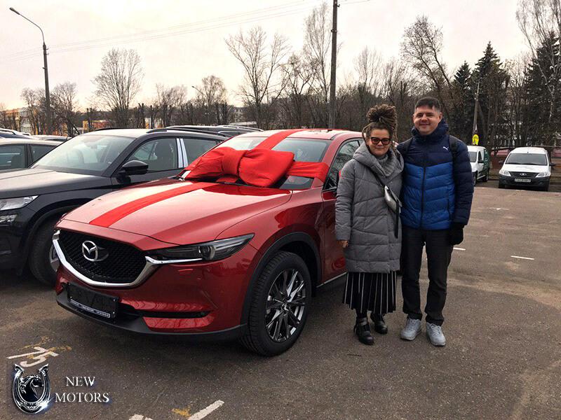 Отзыв о доставке Mazda CX-5 Executive