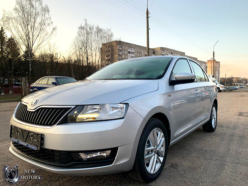 Отзыв о доставке Skoda Rapid Ambition Hockey Edition