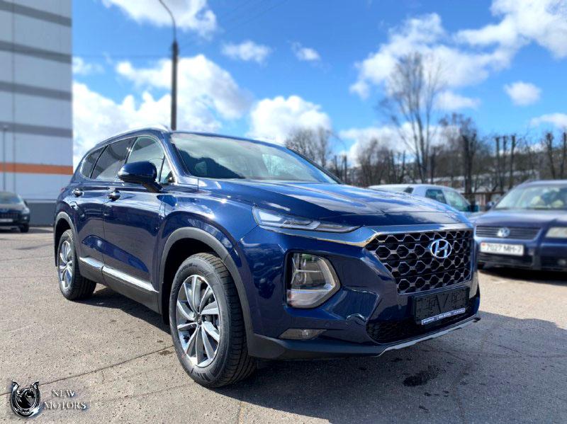 Новый Hyundai Santa Fe Premier + Smart Sense