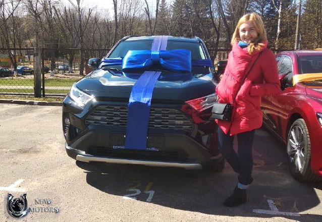 Новый Toyota RAV4 Престиж Safety в Минске