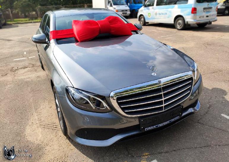 Новый Mercedes-Benz E200 под заказ